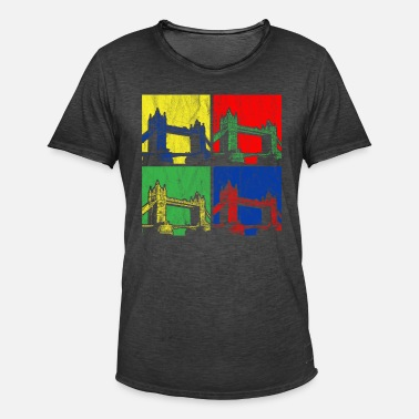 Bridge Tower Bridge - Herre vintage T-shirt