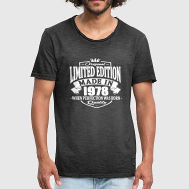 Limited edition made in 1978 - Men's Vintage T-Shirt