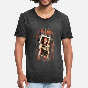 Vintage Collection Blurry NES - Herre vintage T-shirt