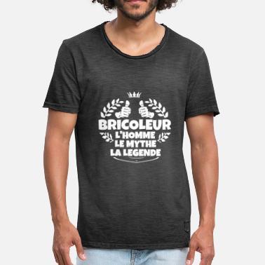 t shirts bricoleur humour commander en ligne spreadshirt. Black Bedroom Furniture Sets. Home Design Ideas