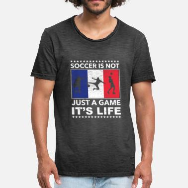 Coup Franc Football France champion coup franc - T-shirt vintage Homme