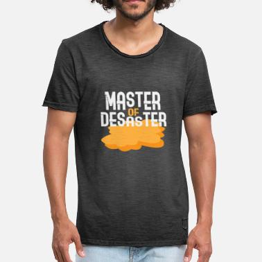 Master Of Disaster Chaos Master of Disaster - Vintage-T-shirt herr