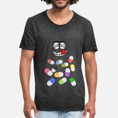 Ecstasy Pill pills - Men's Vintage T-Shirt