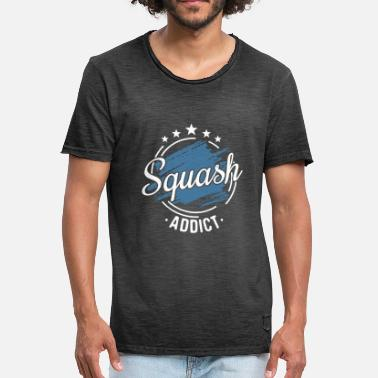 Squash Squash Clothes Cool Funny Team Coach Gift - Men's Vintage T-Shirt
