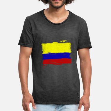 Colombia Colombia flag - Men's Vintage T-Shirt