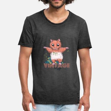 Vintage Collection Vintage hamster - Vintage-T-shirt herr