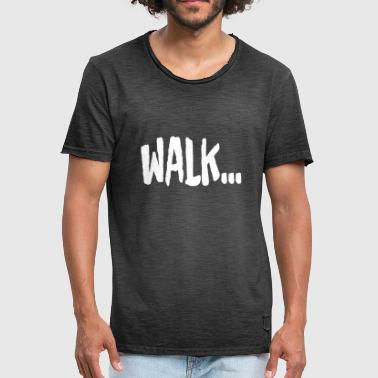 Walker WALK - T-shirt vintage Homme