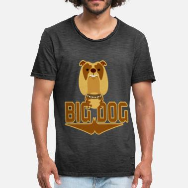 Grote Hond Grote hond - Mannen Vintage T-shirt