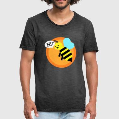 Bumble Bee Cool bumble bee - Men's Vintage T-Shirt