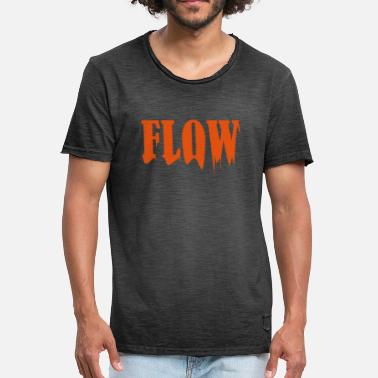 Flowing In the flow - Men's Vintage T-Shirt