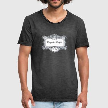 Exquisite Corpse - Men's Vintage T-Shirt