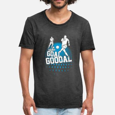 Scories Scorer football - T-shirt vintage Homme