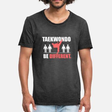 Taekwondo Logo Taekwondo Be Different - Men's Vintage T-Shirt