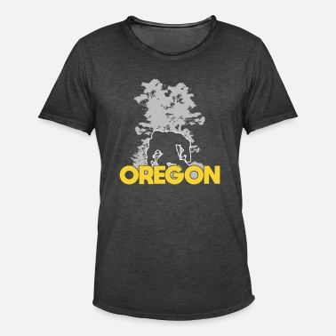 Sasquatch Bigfoot Oregon Sasquatch - Men's Vintage T-Shirt