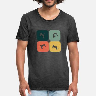 Backflip Backflip, somersault - Men's Vintage T-Shirt