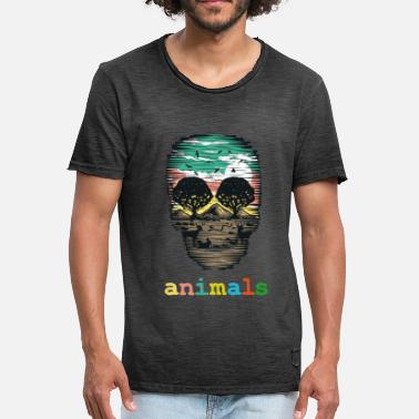 Ecologistas Hambacher bosque naturaleza bosque guardar medio ambiente - Camiseta vintage hombre