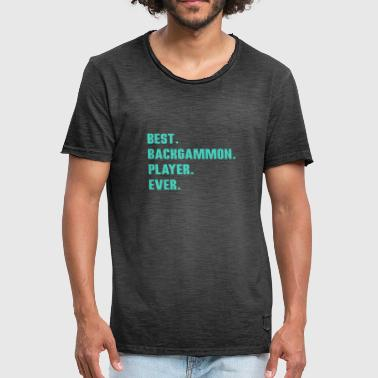 best backgammon player ever - Men's Vintage T-Shirt