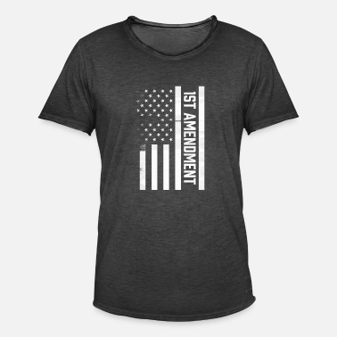 Amendment 1st Amendment - Men's Vintage T-Shirt