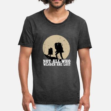 Backpacker Backpacker - Mannen Vintage T-shirt