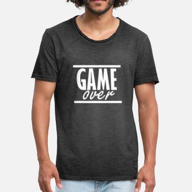 Over Game over - Men's Vintage T-Shirt