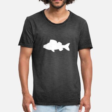 Pikeperch fish - Men's Vintage T-Shirt