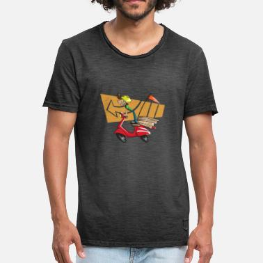 Scooter Riders scooter - Men's Vintage T-Shirt