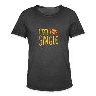 Ik Ben Niet Vrijgezel, Ik Ben Vrijgezel   Mannen Vintage T Shirt