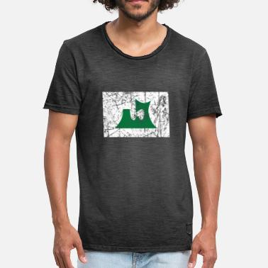 Prefecture Aomori Japanese prefecture vintage flag - Men's Vintage T-Shirt