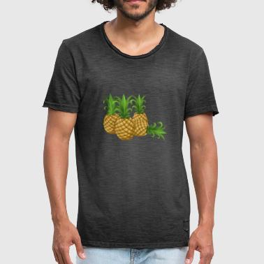 Pineapple fruity - Männer Vintage T-Shirt