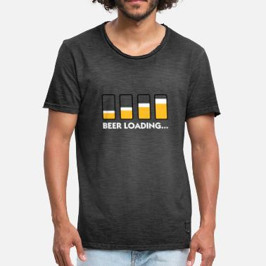 Loading Beer Beer Loading ... - Men's Vintage T-Shirt