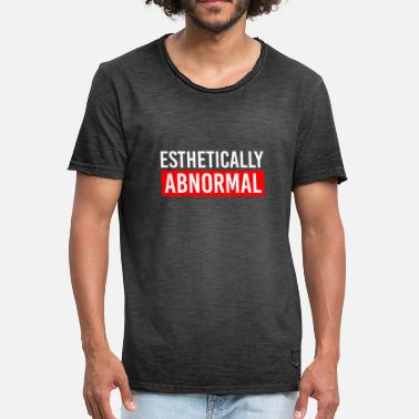 Abnormal Party drink thick fat allround funny gift - Men's Vintage T-Shirt