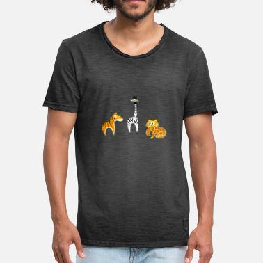 Kids American Safari - Zoo - Kids / Kids - Men's Vintage T-Shirt
