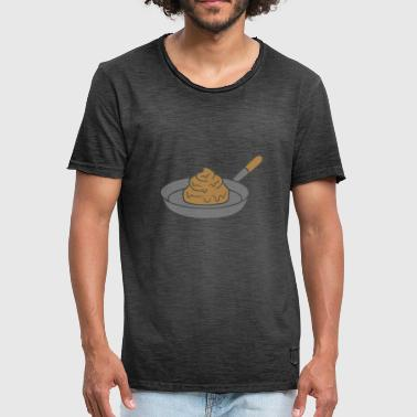 Crotch disgusting shit shit disgusting koechin grilling - Men's Vintage T-Shirt