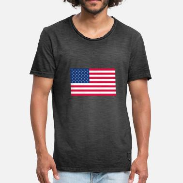 Stars And Stripes Stars and Stripes - Men's Vintage T-Shirt