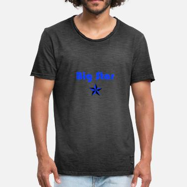 Big Stars Big Star Design - Men's Vintage T-Shirt