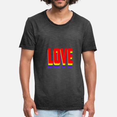 Loved Love - Men's Vintage T-Shirt