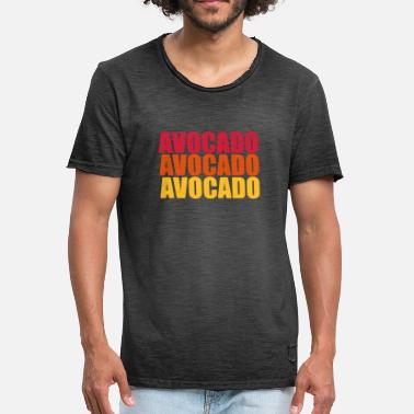 Trio Avocado Trio - Men's Vintage T-Shirt