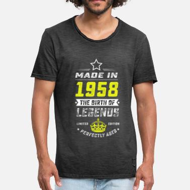 Made In 1958 MADE IN 1958 - Männer Vintage T-Shirt
