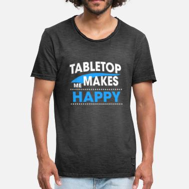 Tabletop Game TABLETOP - Men's Vintage T-Shirt