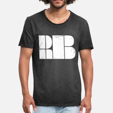 Dnb Drum And Bass DnB - Drum and Bass - Minimalist design - Men's Vintage T-Shirt
