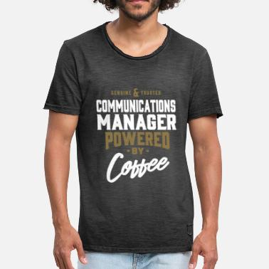 Communicatie Communicatie Manager - Mannen Vintage T-shirt