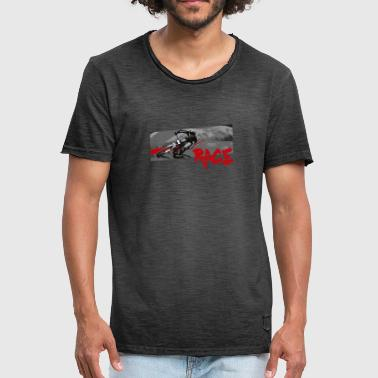 RACE LINE tee - Men's Vintage T-Shirt