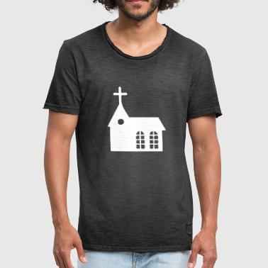 Christian Cross - Men's Vintage T-Shirt