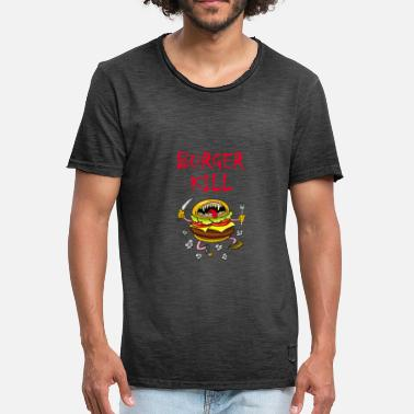 Burger Burger kill - Men's Vintage T-Shirt