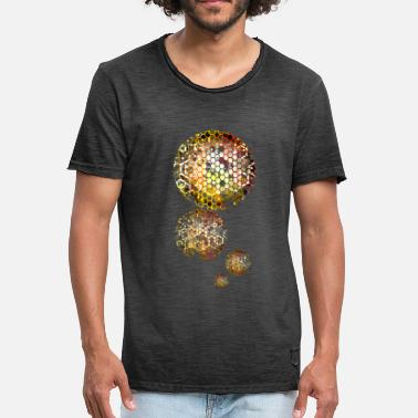Stars Planets Star planet - Men's Vintage T-Shirt