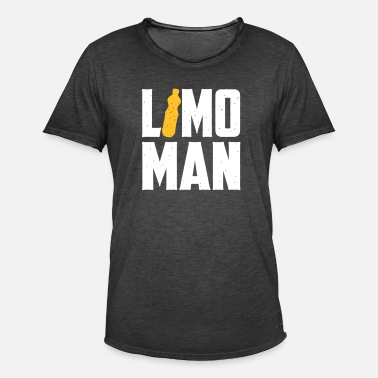Limo Limo Man - Limonade T-shirt - Mannen Vintage T-shirt