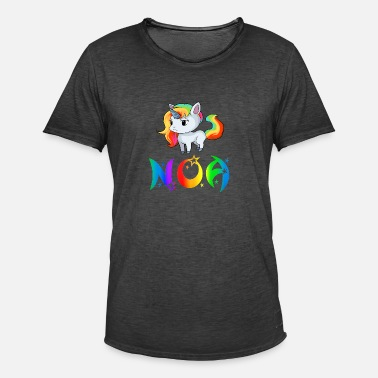 Noa Unicorn Noa - Vintage-T-skjorte for menn