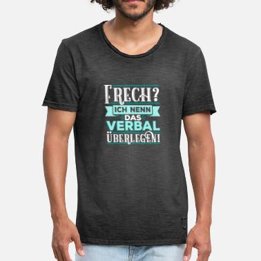 Provoke Quote Naughty Verbal Provocative Provoking Gift - Men's Vintage T-Shirt