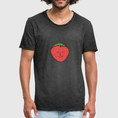 strawberry - Men's Vintage T-Shirt