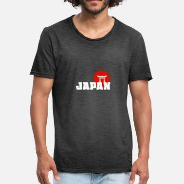 Shrine Japanese shrine Japan Japanese Nihon Nippon - Men's Vintage T-Shirt